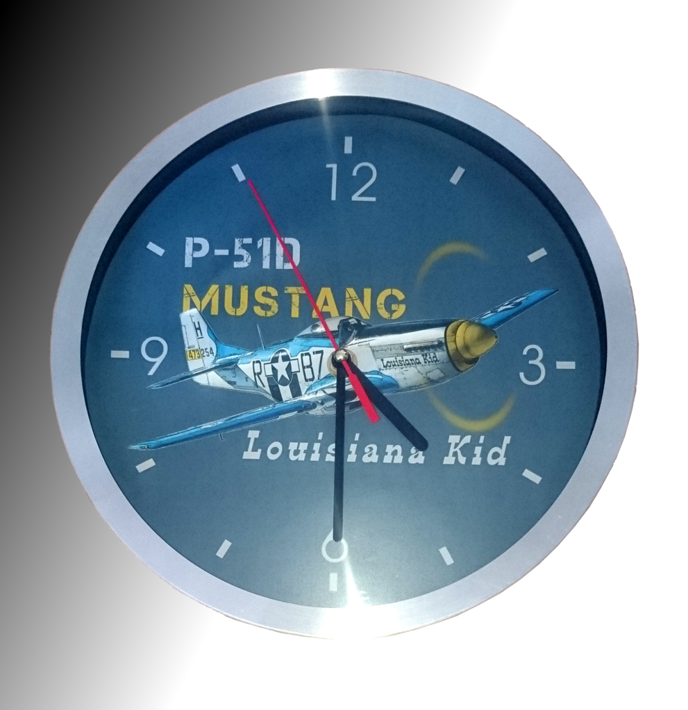 "Wanduhr ""Louisiana Kid"""